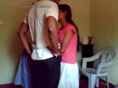Young couple kissing and softcore sri lankan fuck video