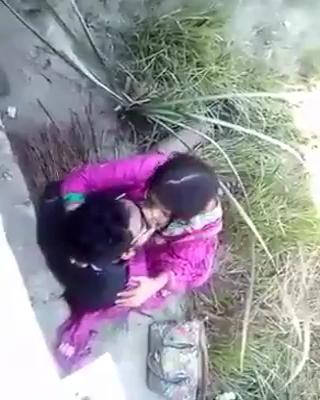Horny couple kissing and ass grabbing in public place srilankan sinhala sex